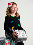 WATERBURY, CT-120218JS01- Christmas Kids, Mya Evangelista, 8, of Naugatuck. <br /> Jim Shannon Republican American