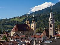 Blick auf Brixen, Region Südtirol-Bozen, Italien, Europa<br /> Skyline of Brixen, Region South Tyrol-Bolzano, Italy, Europe