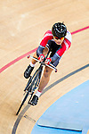 Ng Siu Yin of SCAA in action during the  Youth 11-13 1km Time Trial (Qualifying) at the Hong Kong Track Cycling Race 2017 Series 5 on 18 February 2017 at the Hong Kong Velodrome in Hong Kong, China. Photo by Marcio Rodrigo Machado / Power Sport Images