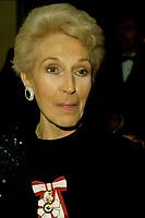 Janine Sutto circa 1985<br /> PHOTO :   Pierre Roussel - Agence Quebec presse