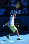 Nicolas ALMAGRO (ESP) loses at Australian Open in Melbourne Australia on 21st January 2013