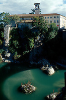 Italien, Venetien-Friaul, Cividale del Friuli, Natisone-Schlucht