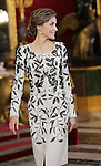 Queen Letizia of Spain attends the National Day acts. October 12 ,2016. (ALTERPHOTOS/Pool)
