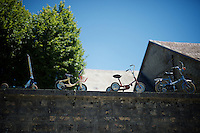 roadside cyclo-creativity<br /> <br /> stage 15: Bourg-en-Bresse to Culoz (160km)<br /> 103rd Tour de France 2016