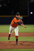 AZL Giants Orange relief pitcher Julio Rodriguez (23) during an Arizona League game against the AZL Mariners on July 18, 2019 at the Giants Baseball Complex in Scottsdale, Arizona. The AZL Giants Orange defeated the AZL Mariners 7-4. (Zachary Lucy/Four Seam Images)