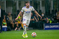 Milan, Italy - september 15 2021 - Valverde in action during Inter- Real Madrid champions league