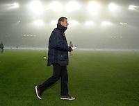 Jurgen Klinsmann, coach of team USA, short bofore the friendly match Slovenia against USA at the Stozice Stadium in Ljubljana, Slovenia on November 15th, 2011.