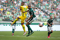 São Paulo (SP), 16/02/2020 - Palmeiras-Mirassol - Juninho e Mayke. Palmeiras e Mirassol, durante partida válida pela sexta rodada do campeonato paulista 2020, no Allianz Parque, zona oeste da capital, na tarde deste domingo (16).