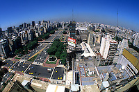 Life in Argentina  9 Dejulio Avenue worlds widest street in downtown Buenos Aires  .