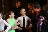 Sascha und Igors Trainerin Valentina Garolidowna ist bei den Auftritten und Wettkämpfen ihrer Kinder<br /> immer dabei.