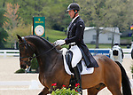 April 23, 2021: #49 Diachello and rider Jesse Campbell from New Zealand in the 5* Dressage  at the Land Rover Three Day Event at the Kentucky Horse Park in Lexington, KY on April 23, 2021.  Candice Chavez/ESW/CSM