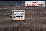 Altrincham v Millwall 10/11/2007