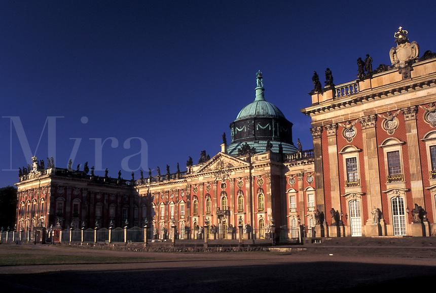 Potsdam, palace, Germany, Brandenburg, Europe, Neues Palais