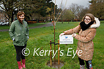 Macra na Feirme planted a tree in the Tralee town park on Saturday for their Mental Health Awareness campaign. Front right: Joanne Lawlor (Chairperson) with Mairead Leen (Rural Youth Officer)