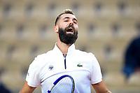 27th September 2020, Roland Garros, Paris, France; French Open tennis, Roland Garros 2020; Benoit Paire (fra)