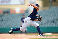 Tampa Yankees pitcher Charley Short (46) during a game against the Jupiter Hammerheads on July 18, 2013 at Roger Dean Stadium in Jupiter, Florida.  Jupiter defeated Tampa 6-1.  (Mike Janes/Four Seam Images)