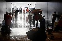 SÃO PAULO, SP 26.01.2019: CORINTHIANS-PONTE PRETA - Jogo paralisado por conta do temporal. Corinthians e Ponte Preta, em jogo válido pela terceura rodada do campeonato Paulista 2019, na Arena Corinthians, zona leste da capital. (Foto: Ale Frata/Codigo19)