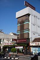 "Yogyakarta, Java, Indonesia.  Bank Saudara (""Family Bank""), Mangkubumi Street."
