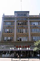 Memphis:  Memphis--Commercial facade.