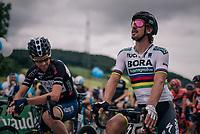 World Champion Peter Sagan (SVK/Bora-Hansgrohe) at the start<br /> <br /> Stage 4: Gansingen > Gstaad (189km)<br /> 82nd Tour de Suisse 2018 (2.UWT)