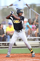 Taylor Lane, #12 of Great Bridge High School, VA playing for the Evoshield Canes Team during the WWBA World Championship 2013 at the Roger Dean Complex on October 27, 2013 in Jupiter, Florida. (Stacy Jo Grant/Four Seam Images)