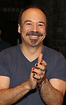 """Danny Burstein during the Broadway Opening Night Legacy Robe Ceremony honoring Bahiyah Hibah for  """"Moulin Rouge! The Musical"""" at the Al Hirschfeld Theatre on July 25,2019 in New York City."""