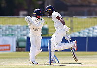 Alex Davies of Lancashire fails to run out Miguel Cummins during Kent CCC vs Lancashire CCC, LV Insurance County Championship Group 3 Cricket at The Spitfire Ground on 24th April 2021