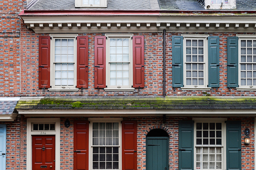 Townhouse in Society Hill,, Philadelphia, Pennsylvania, USA