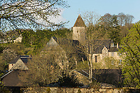 Europe/France/Normandie/Basse-Normandie/50/Manche/Mortain: L'abbaye Blanche   //  France, Manche, Mortain, White Abbey (12th century)