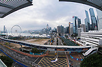 An overview of the Central Harbourfront Circuit during the FIA Formula E Hong Kong E-Prix Round 2 on 03 December 2017 in Hong Kong, Hong Kong. Photo by Victor Fraile / Power Sport Images