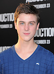 Sterling Beaumon at The Lionsgate Premiere of ABDUCTION  held at The Grauman's Chinese Theatre in Hollywood, California on September 15,2011                                                                               © 2011 DVS/ Hollywood Press Agency