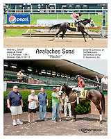 Apalachee Song winning at Delaware Park on 6/27/13