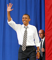 20120829_President Barack Obama Campaigns in Charlottesville