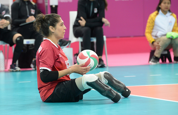 Felicia Voss-Shafiq, Lima 2019 - Sitting Volleyball // Volleyball assis.<br />