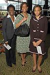 Lorraine Hunter-Simpson, Sonia Harris and Madison Harris at the Ivy Foundation luncheon and fashion show at the Hilton Americas Hotel downtown Saturday March 01,2008.(Dave Rossman/For the Chronicle)