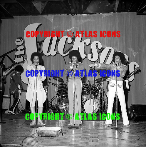 The Jackson 5; 1978 Narm Convertion; New Orleans<br /> Photo Credit: James Fortune/AtlasIcons.com