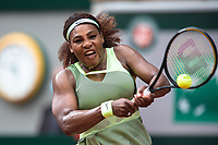 4th July 2021; Roland Garros, Paris France; French Open tennis championships day 6;  Serena Williams (USA )