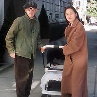 Woody Allen, Soon Yi, 1997 Photo By Michael Ferguson/PHOTOlink / MediaPunch