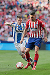 Atletico de Madrid's Victor Machin 'Vitolo' and CD Leganes's Javier Eraso during La Liga match between Atletico de Madrid and CD Leganes at Wanda Metropolitano stadium in Madrid, Spain. March 09, 2019. (ALTERPHOTOS/A. Perez Meca)