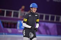 OLYMPIC GAMES: PYEONGCHANG: 24-02-2018, Gangneung Oval, Long Track, Mass Start Ladies, Heather Bergsma (USA), ©photo Martin de Jong