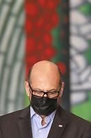 SÃO PAULO, SP, 09.06.2021 - COVID-19-SP - Dimas Covas, Diretor do Instituto Butantan, participa de apresentação de informações sobre o combate ao coronavírus (COVID-19) em São Paulo, no Palácio dos Bandeirantes, nesta quarta-feira, 9. (Foto Charles Sholl/Brazil Photo  Press)