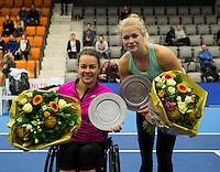 Rotterdam, Netherlands, December 17, 2016, Topsportcentrum, Lotto NK Tennis,   <br /> Photo: Tennisimages/Henk Koster