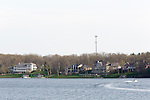 Longtime industrial city Decatur, Ill., had the country's greatest unemployment rate reduction. But people leaving the workforce – moving away, retiring, no longer looking for jobs -- may be the cause, rather than economic expansion. Major employers Archer Daniels Midland Co. and Tate & Lyle PLC help support the local real estate market. City officials have tried to promote recreational opportunities around Lake Decatur.<br /> CREDIT: Kristen Schmid for the Wall Street Journal<br /> RUSTBELT