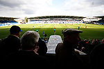 Chesterfield 1 Accrington Stanley 2, 16/09/2017. Proact Stadium, League Two. Chesterfield fans at half time,  Photo by Paul Thompson.