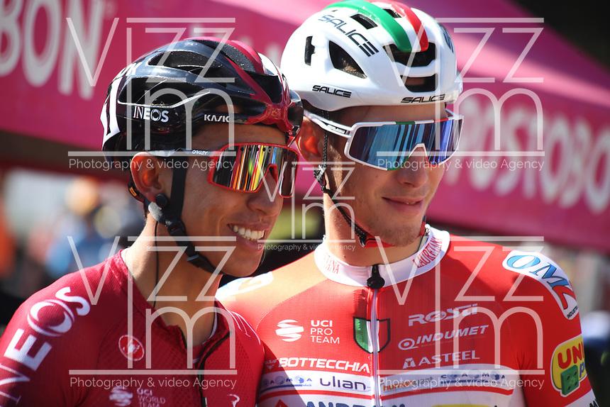 TUNJA - COLOMBIA, 15-02-2020: Egan Bernal (COL), TEAM INEOS, durante la quinta etapa del Tour Colombia 2.1 2020 con un recorrido de 180,5 km que se corrió entre Paipa, Boyacá, y Zipaquirá, Cundinamarca. / Egan Bernal (COL), TEAM INEOS, during the fifth stage of 180,5 km as part of Tour Colombia 2.1 2020 that ran between Paipa, Boyaca, y Zipaquirá, Cundinamarca.  Photo: VizzorImage / Darlin Bejarano / Cont