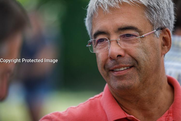 Lancement campagne à LaPrairie<br /> Stephane le Bouyonnec , aout 2018<br /> <br /> PHOTO : Agence Quebec Presse