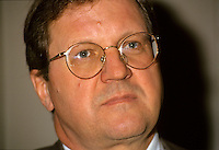 Oct 1994  file photo - Lloyd Axworthy,<br /> <br /> Lloyd Norman Axworthy, PC, OC, OM (born December 21, 1939, in North Battleford, Saskatchewan) is prominent Canadian politician and statesman from Manitoba. He is best known for having served as Minister of Foreign Affairs under Canadian Prime Minister Jean ChrÈtien. Axworthy is currently President of the University of Winnipeg.
