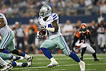 Dallas Cowboys running back Phillip Tanner (34) in action during the pre-season game between the Cincinnati Bengals and the Dallas Cowboys at the AT & T stadium in Arlington, Texas. Dallas leads Cincinnati 14 to 7 at halftime.