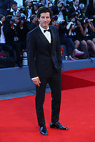 Francesco Scianna attends the red carpet for the Kineo Award, during the 72nd Venice Film Festival at the Palazzo Del Cinema in Venice, Italy, September 6, 2015.<br /> UPDATE IMAGES PRESS/Stephen Richie