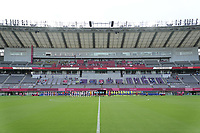 TOKYO, JAPAN - JULY 20: Tokyo Stadium before a game between Sweden and USWNT at Tokyo Stadium on July 20, 2021 in Tokyo, Japan.